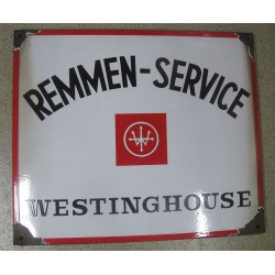 WESTINGHOUSE Reclamebord